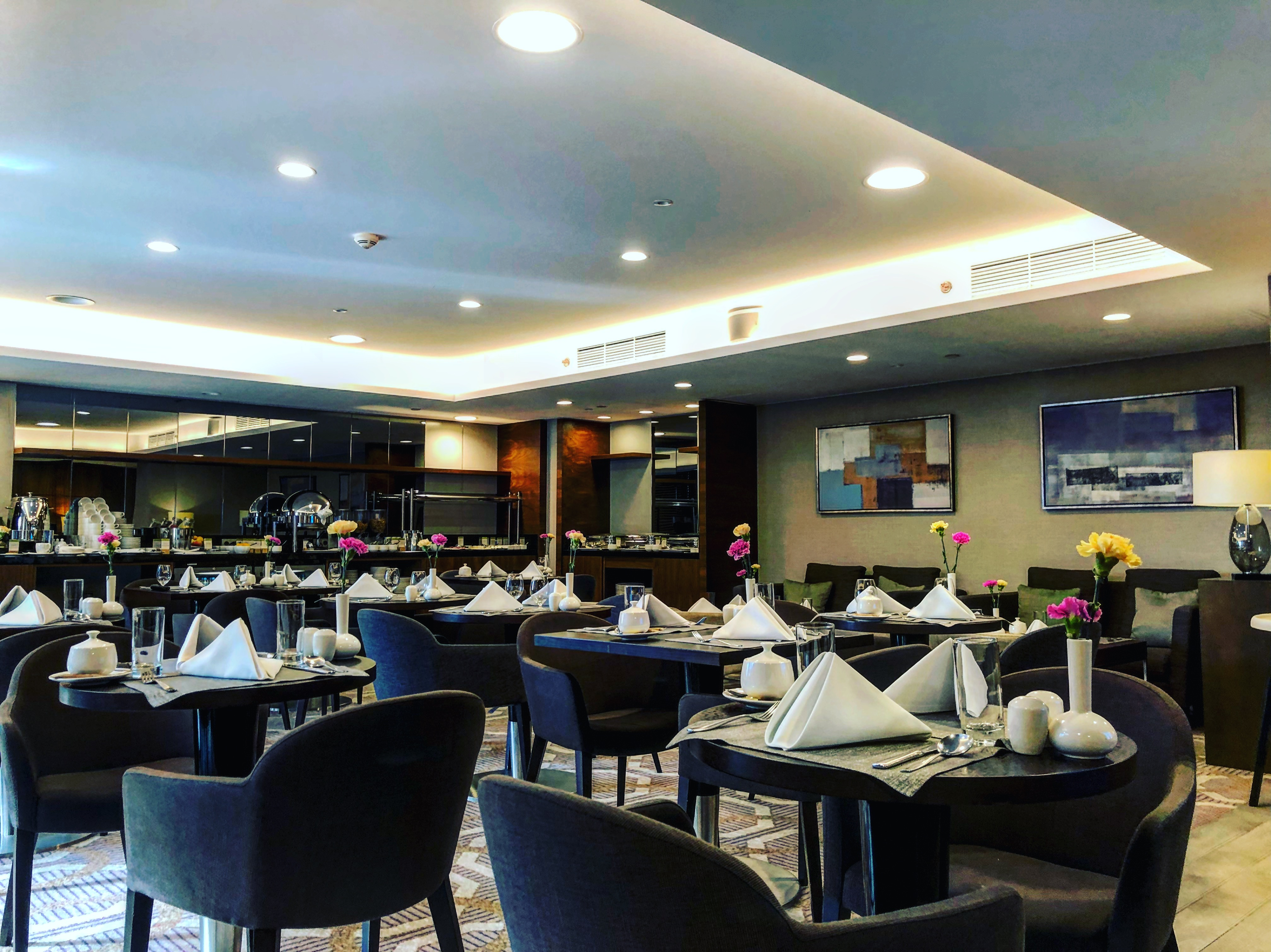 Salonik Executive Lounge w DoubleTree by Hilton Warsaw