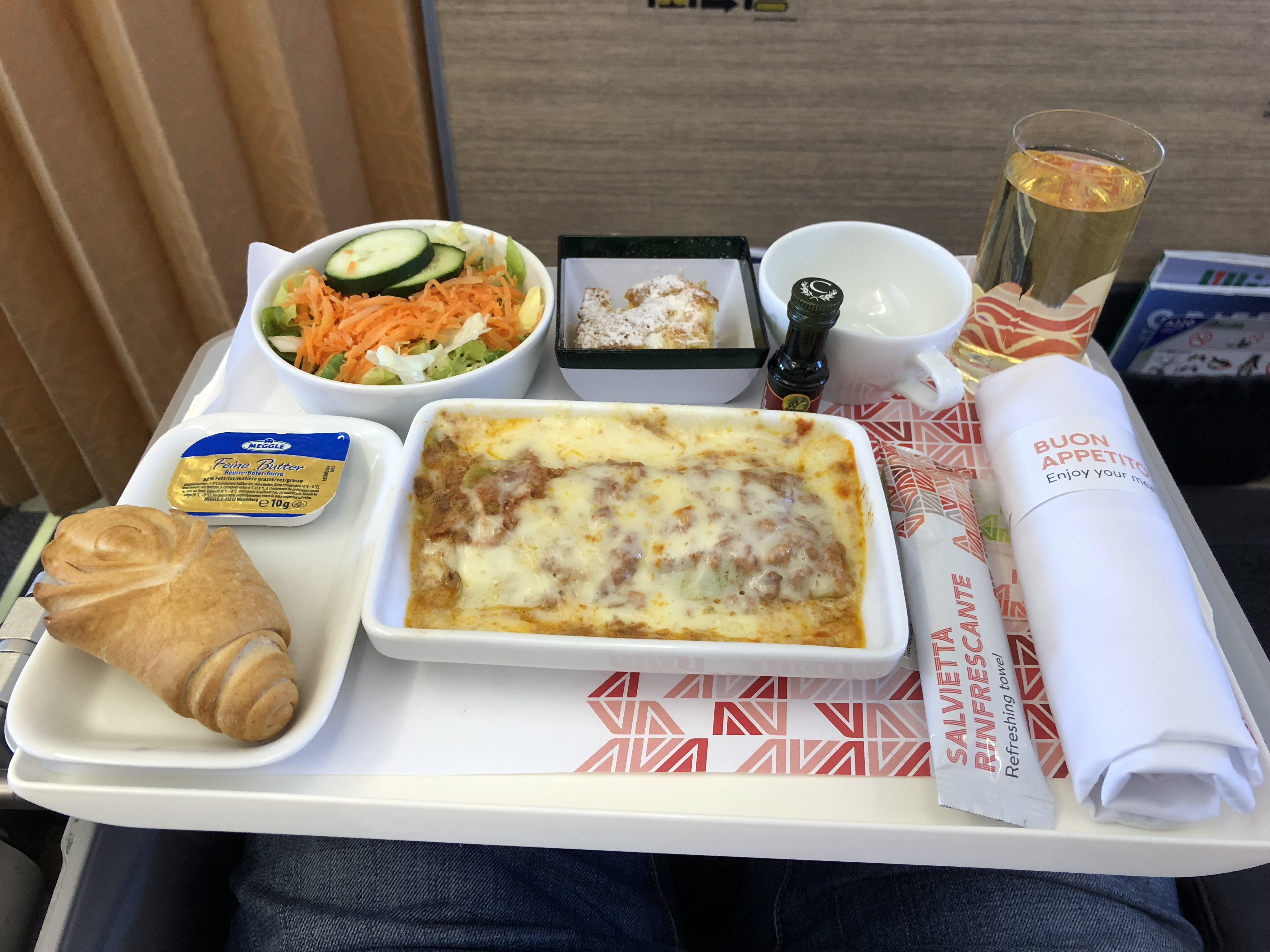 Alitalia w klasie biznes