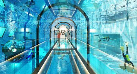 Deepspot – jedyny taki basen hotelowy w Polsce